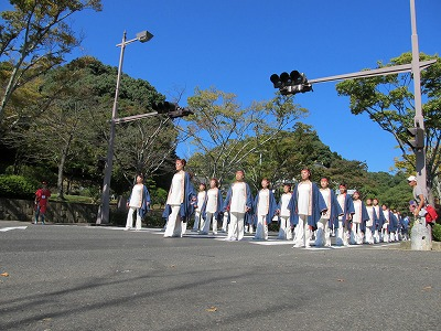 【YOSAKOIさせぼ中央公園通り】青嵐_20141025_018